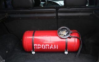 Как снимается газовый баллон с автомобиля?
