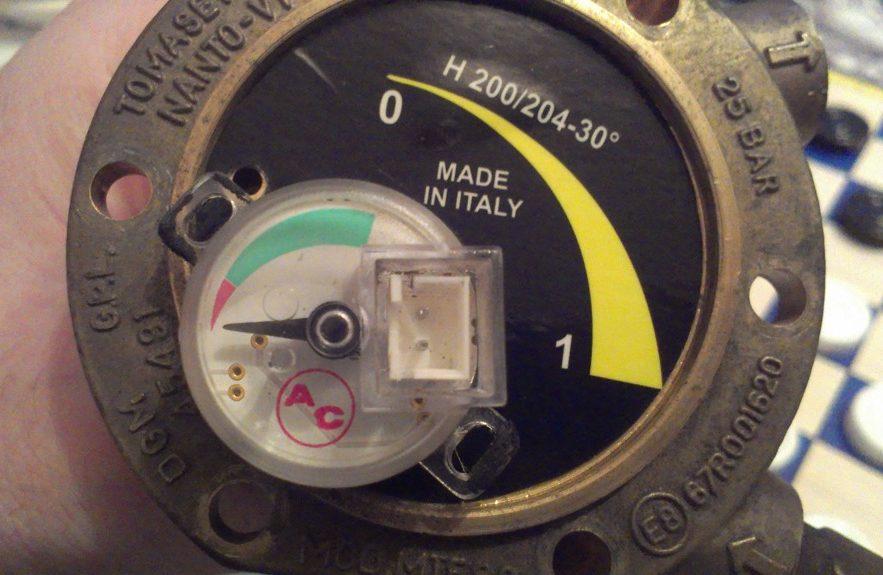 Датчики уровня газа ГБО: характеристики и виды